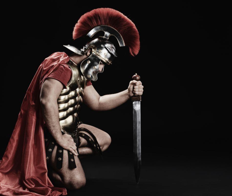 Soldat din gărzile pretoriene.