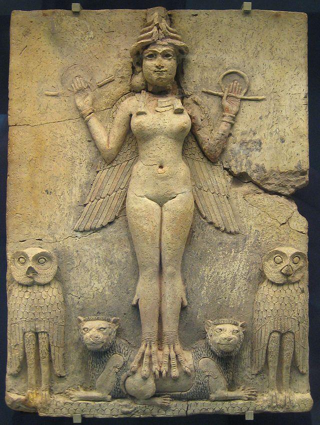 Ishtar, zeiţa iubirii, sexualităţii şi fertilităţii