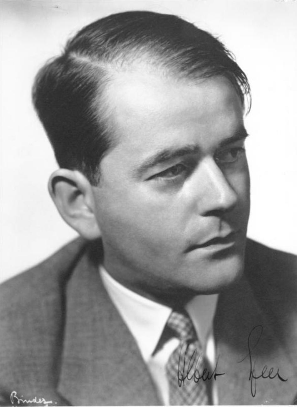 Albert Speer în anii tinereţii sale.