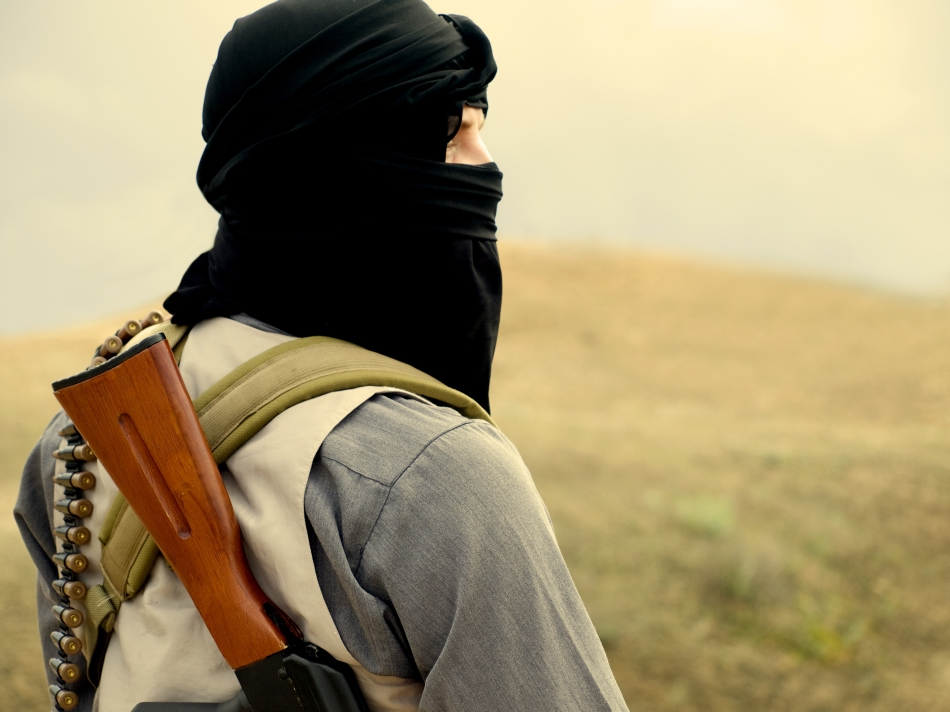Soldat din cadrul armatei ISIL.