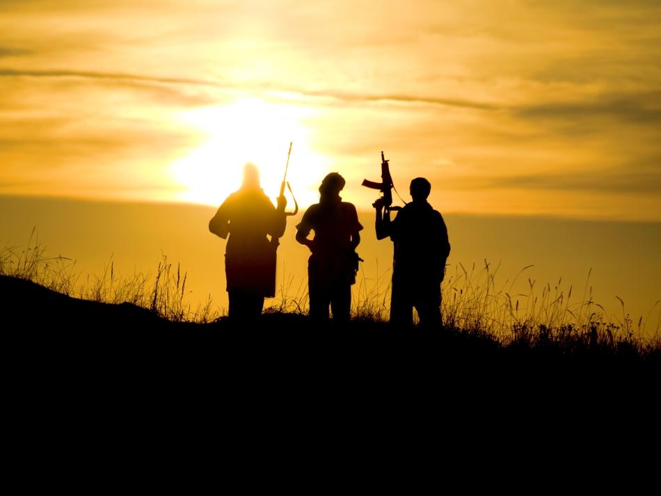 Luptători kurzi în Irak.