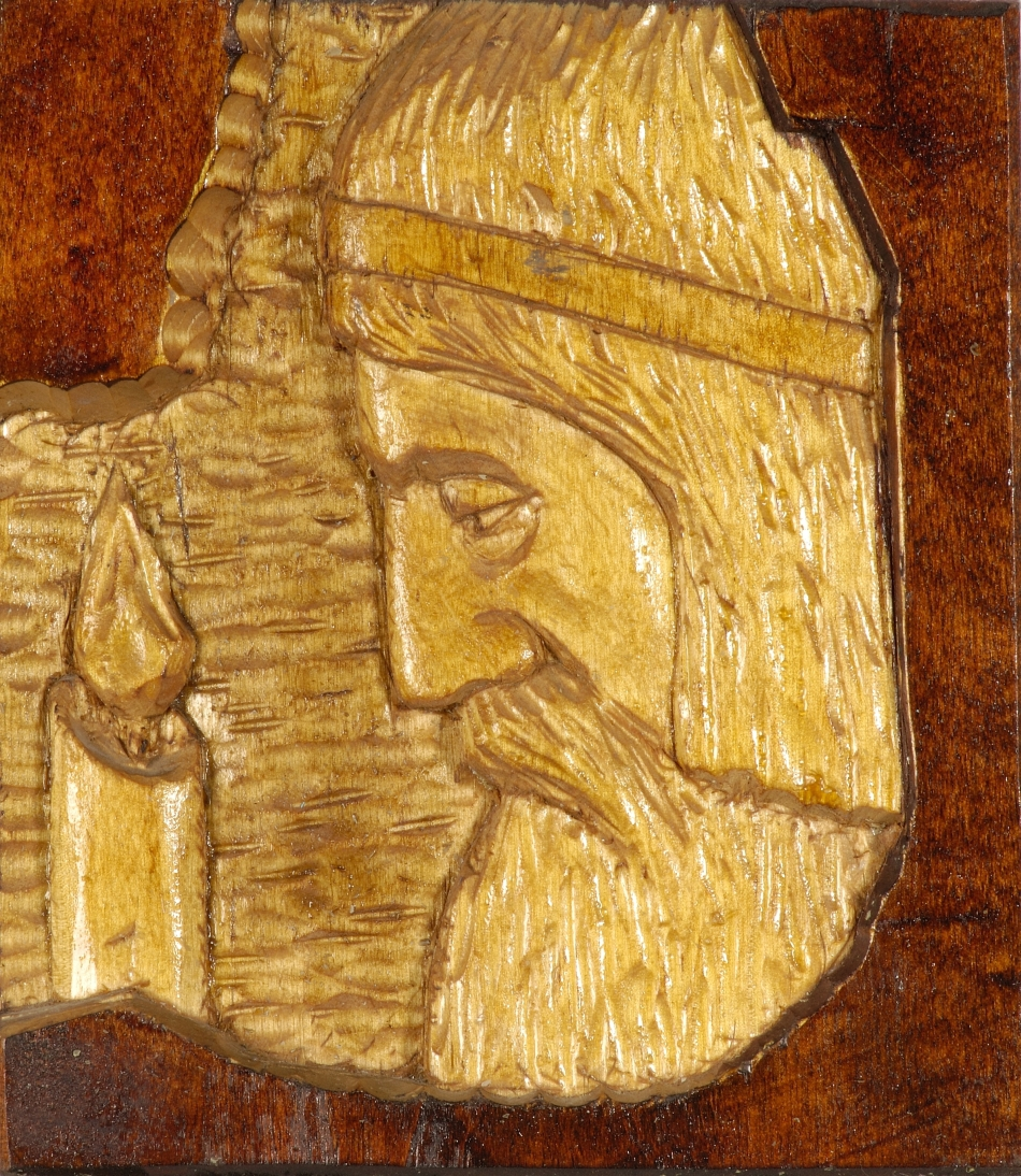 Gravură cu zeul Perun.