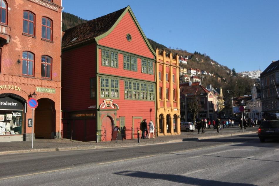 Muzeul Ligii Hanseatice din Bergen, Norvegia.