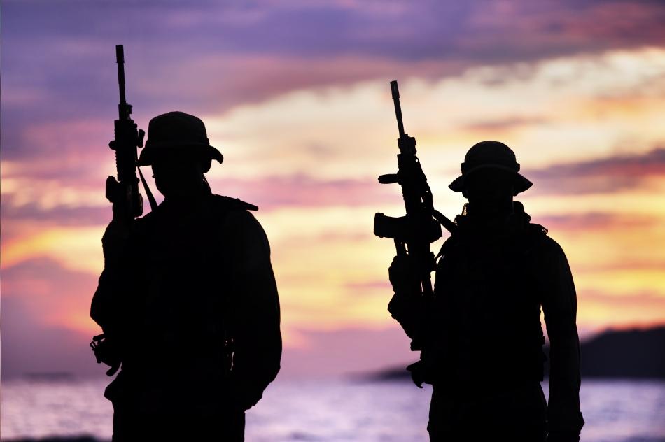 Soldaţi din trupele speciale