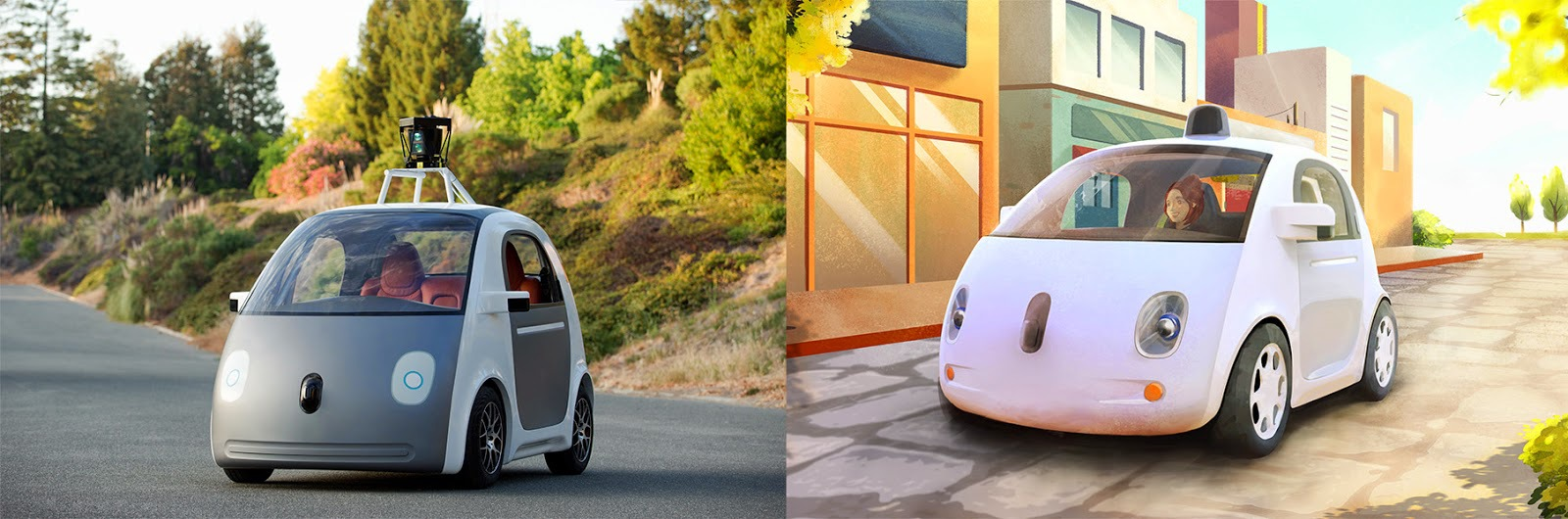 Maşinile care se conduc singure, proiectul prezentat de Google