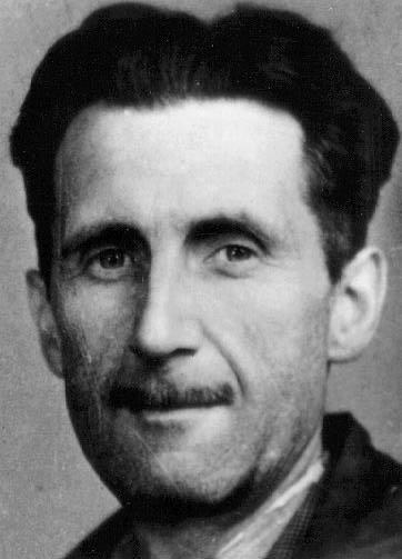 """George Orwell, autorul romanului """"1984"""""""