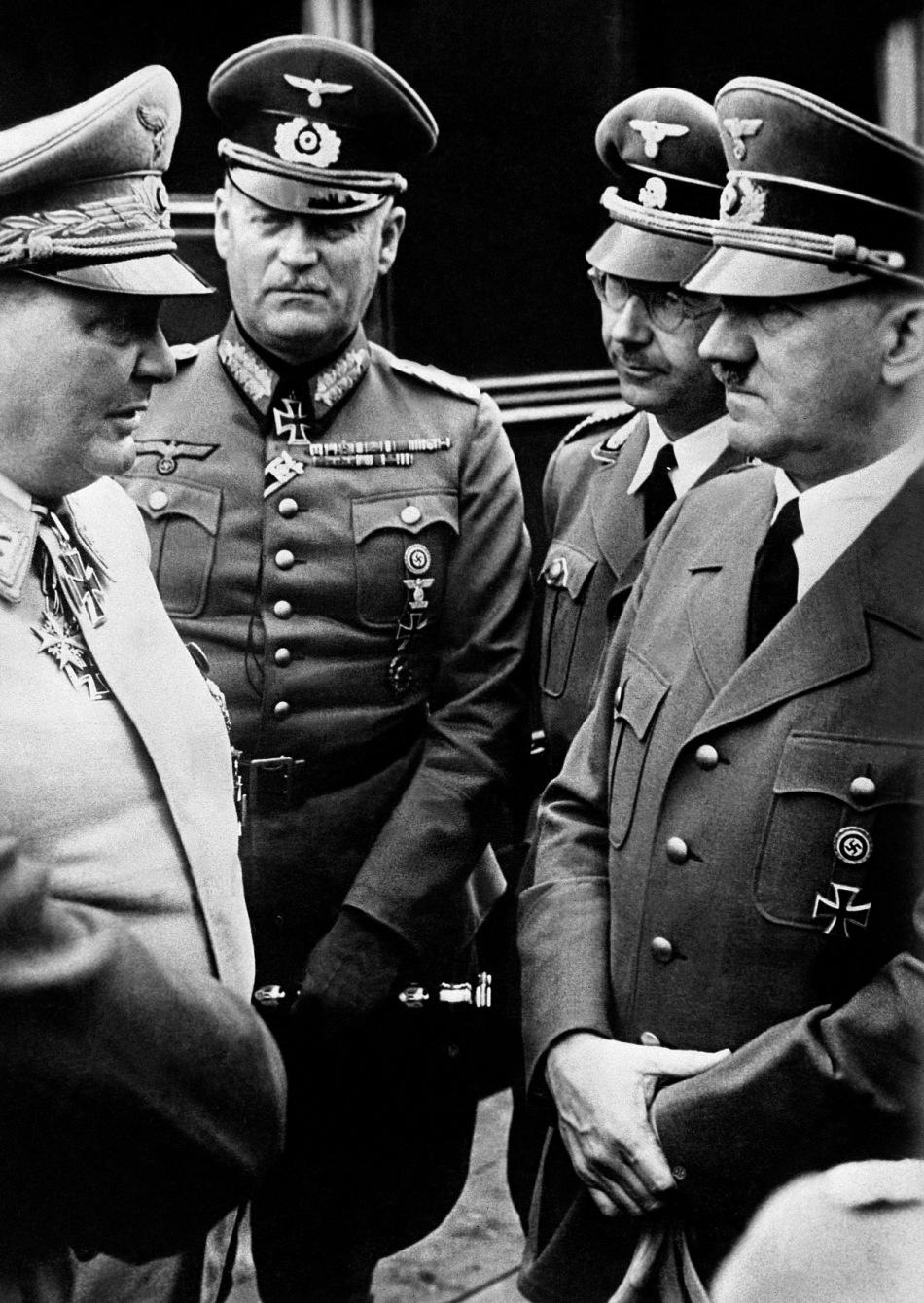 Himmler şi Hitler