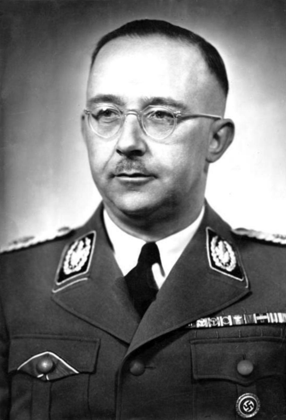 Heinrich Himmler în timp ce era şeful SS-ului.