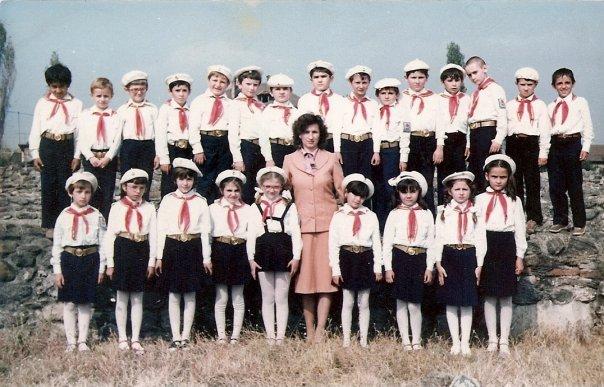 Pionierii, fotografie de grup