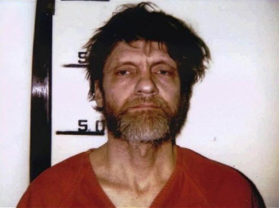 Ted Kaczynski imediat după ce a fost arestat.