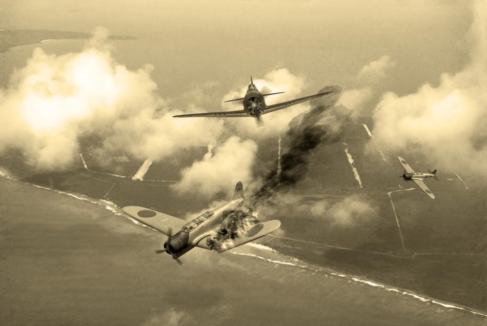 Luptă aeriană