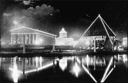 Spectacol de lumini la Tennessee Centennial Exposition, 1897
