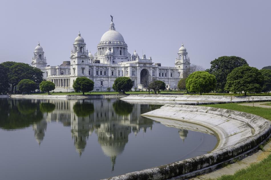 Cle mai mare edificiu britanic construit în oraşul Calcutta.