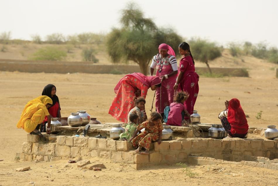 Foametea şi lipsa apei sunt şi astăzi cele mai mari probleme ale Indiei.