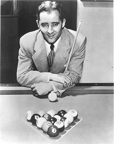 Willie Mosconi: jucator profesionist de biliard la 6 ani
