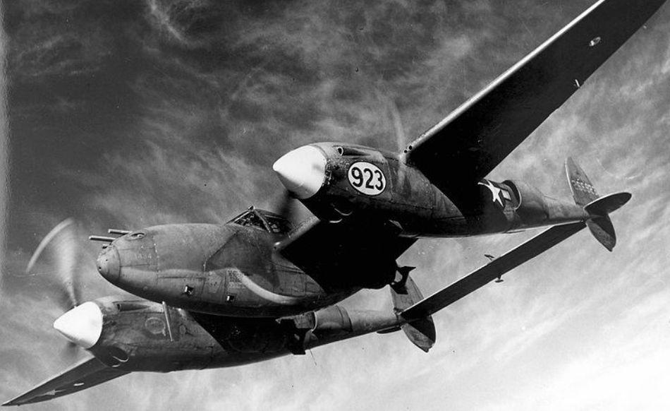 avion lockhed p-38
