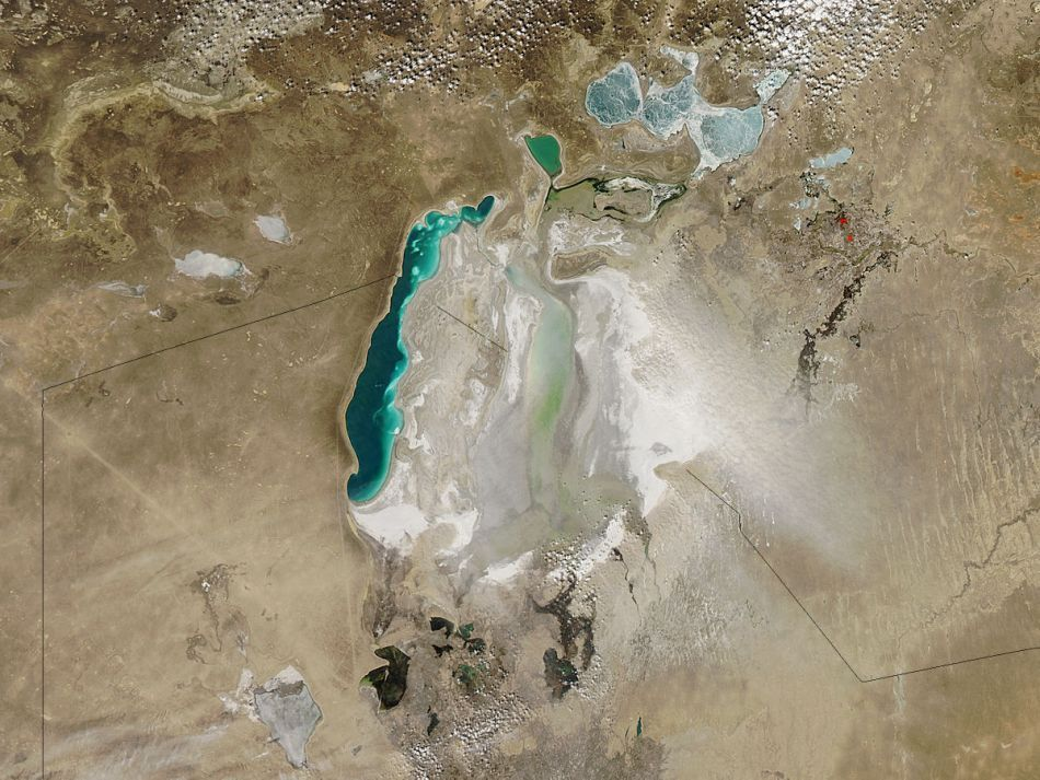 temutele furtuni de nisip din preajma Aralului