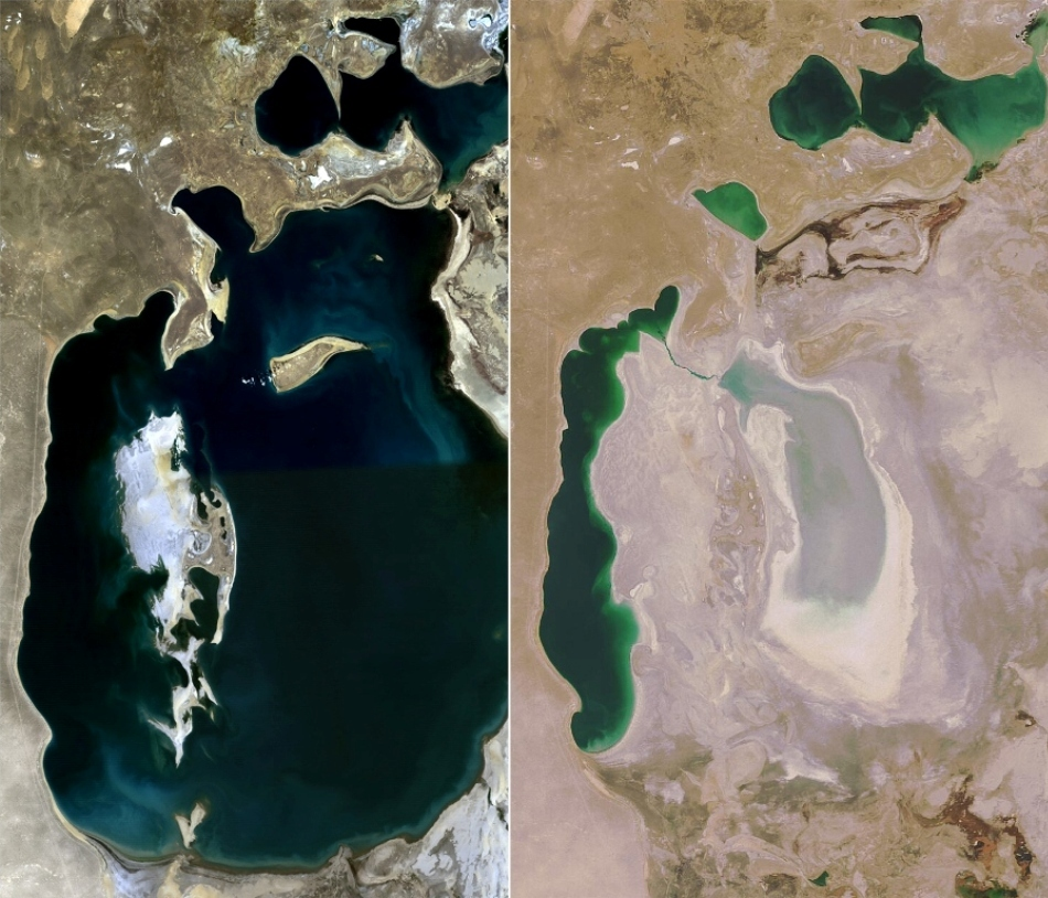 efectele agriculturii agresive asupra Aralului
