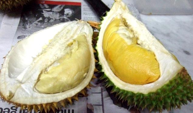 Miezul galben, cremos, al durianului, cu o aromă particulară, este considerat de unii delicios, iar de alţi dezgustător.