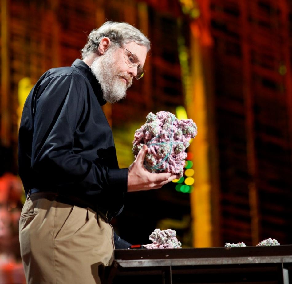 Prof. George Church la o conferinţă TED.