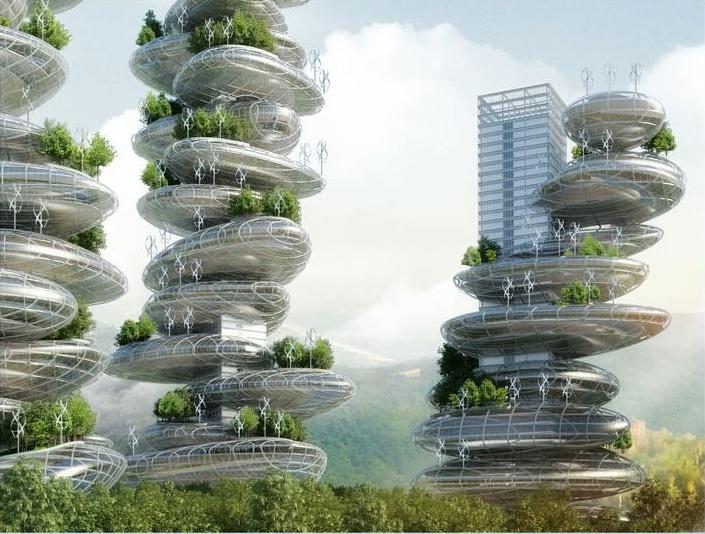 Proiect inedit în China: fermele-zgârie-nori care vor produce mâncare pentru toţi locuitorii lor