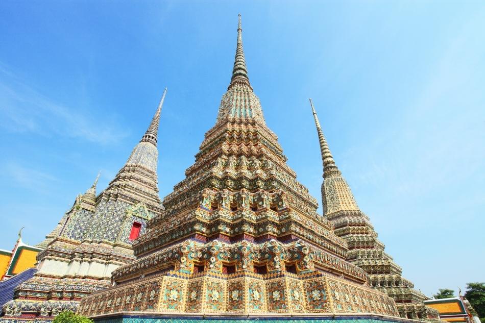 Wat Pho, Bangkok, Thailanda