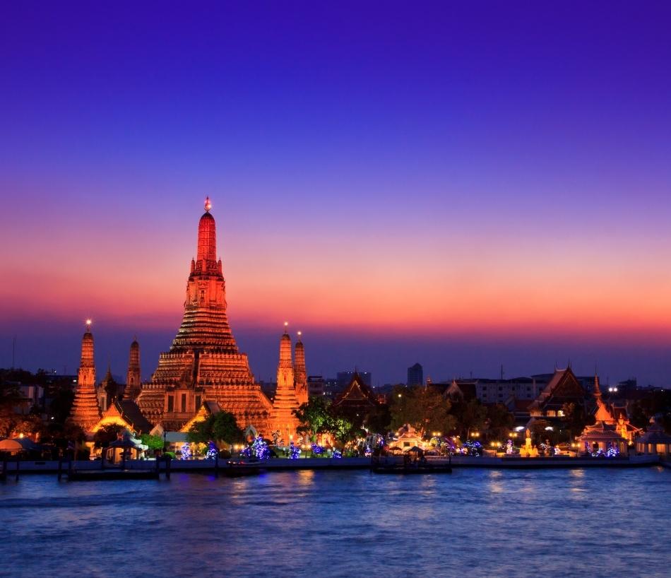 Wat Arun, Bangkok, Thailanda