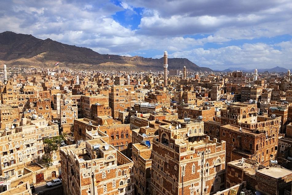 Oraşul vechi din Sanaa (Yemen)