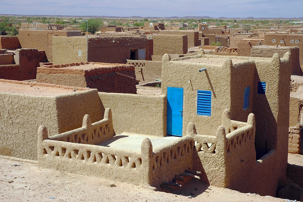 Casele din Agadez (Niger)