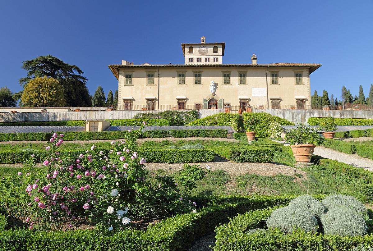 Grădina şi vila La Petraia, una dintre cele mai frumoase vile Medici
