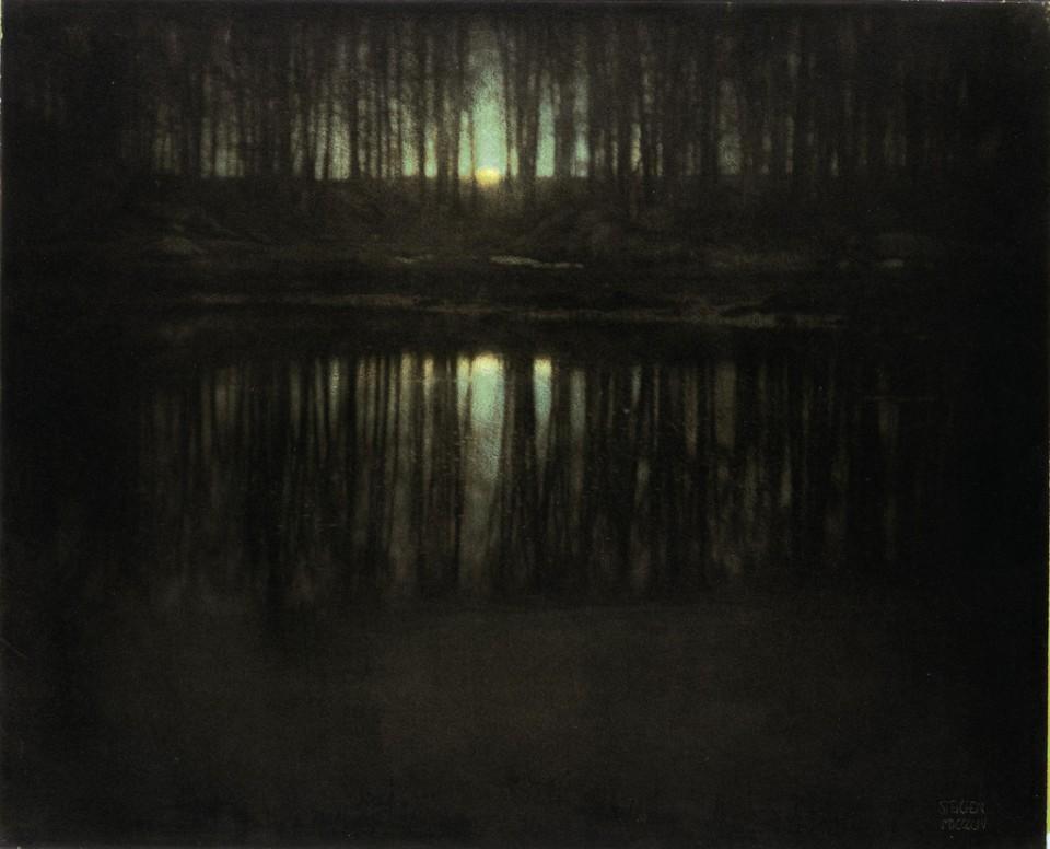 The Pond/Moonlight - Edward Steichen