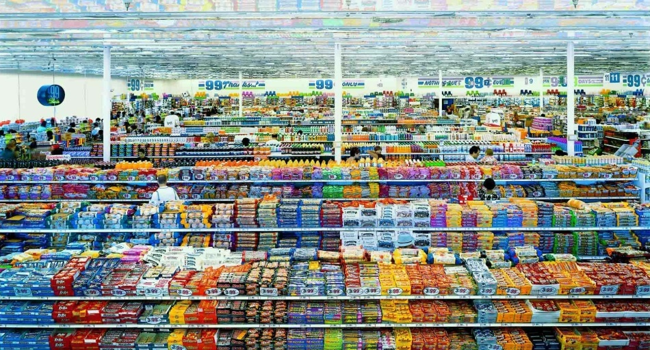 99 Cent II, Diptychon – Andreas Gursky