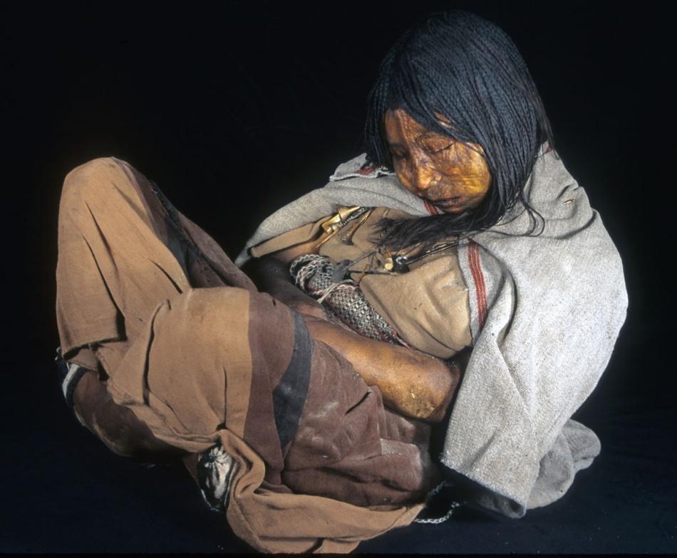 Fecioara de gheaţă, tânăra incaşă sacrificată în timpul unui ritual