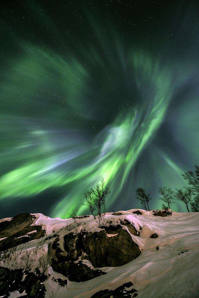 Green Energy - Aurora Boreală