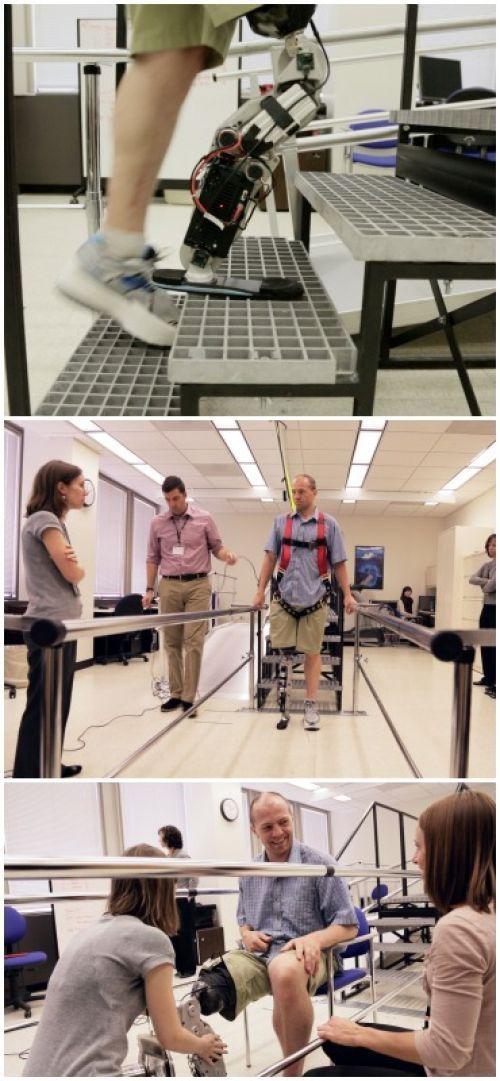 """A fost creat primul picior bionic care poate fi controlat prin """"puterea gândului"""""""