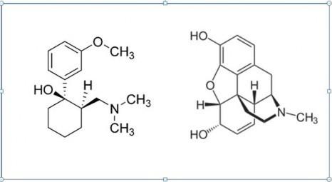 Structura medicamentului Tramadol şi structura morfinei