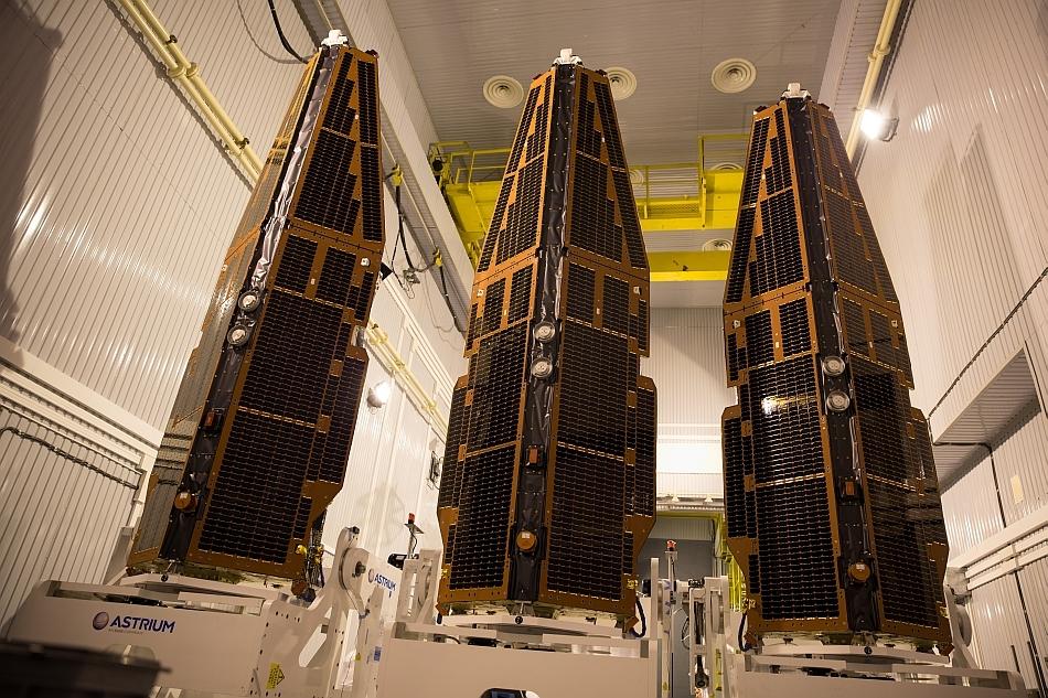 Sateliţii SWARM