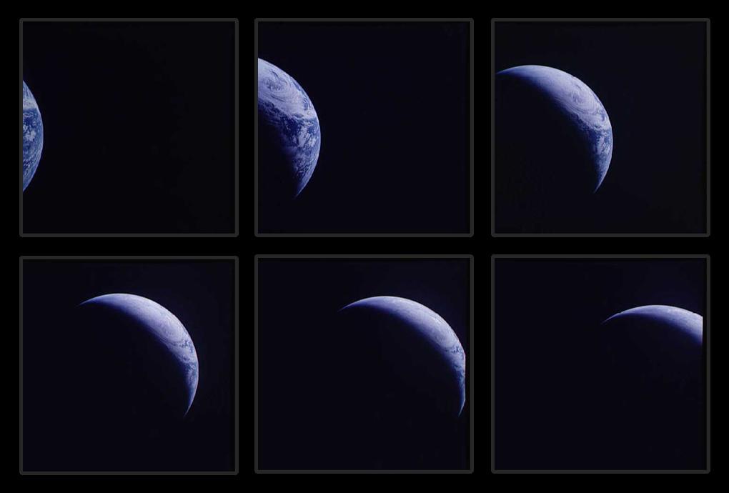 Astronauţii din misiunea Apollo 4 au realizat 713 imagini cu Terra atunci când planeta noastră era vizibilă prin fereastra capsulei