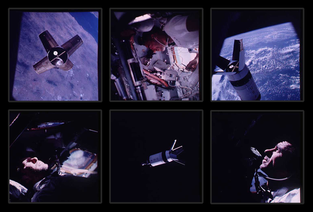 Comandantul Walter M. Schirra pe Apollo 7