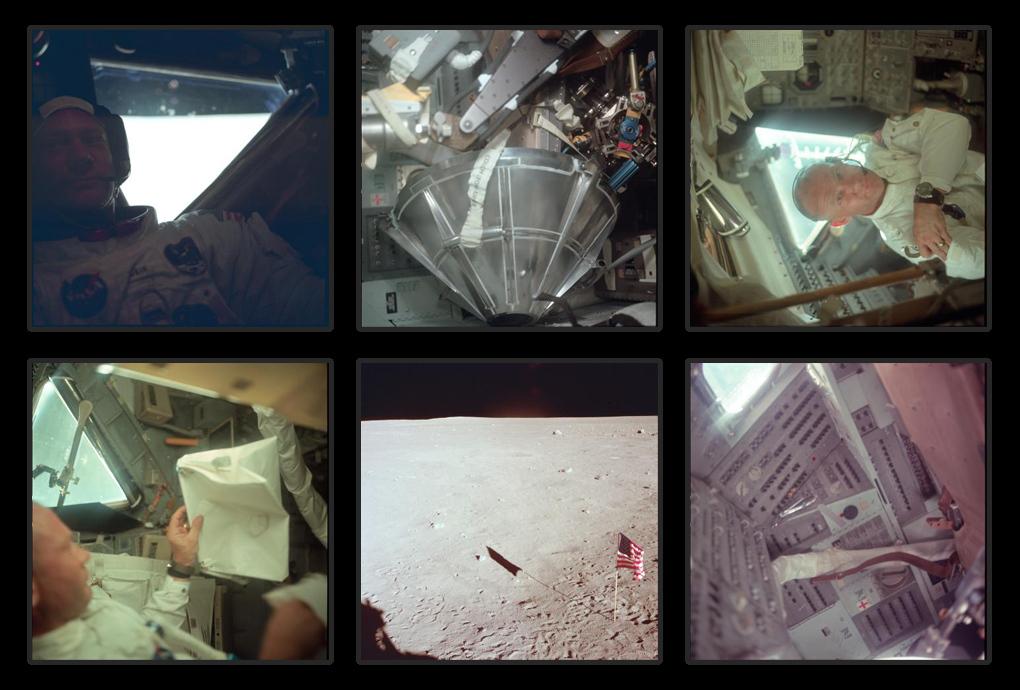 Buzz Aldrin pe Apollo 11