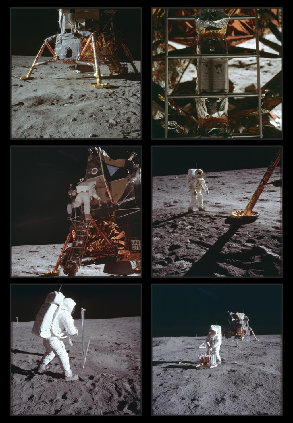 Primele imagini realizate pe Lună