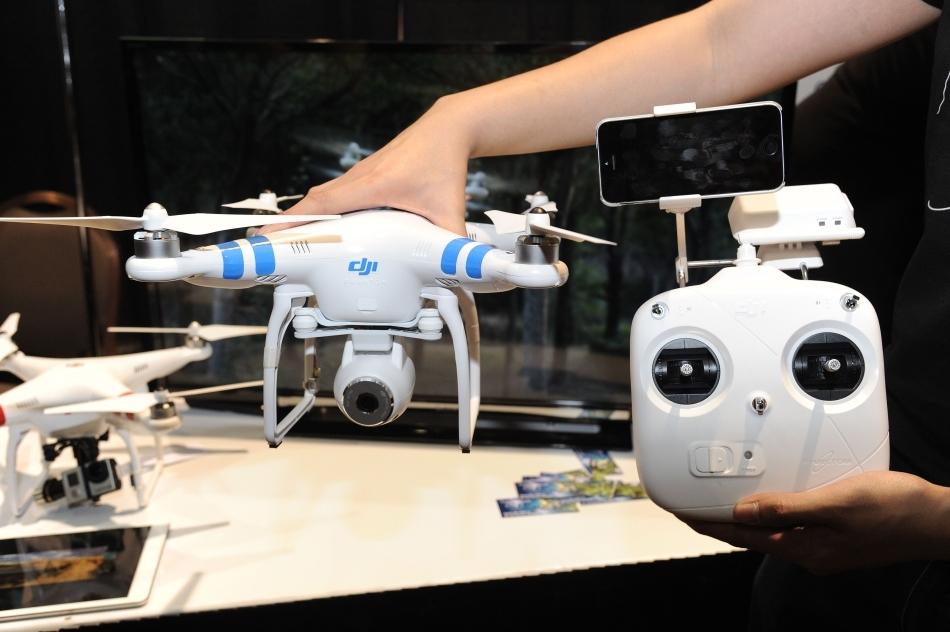 Drona DJI Phantom 2 Vision