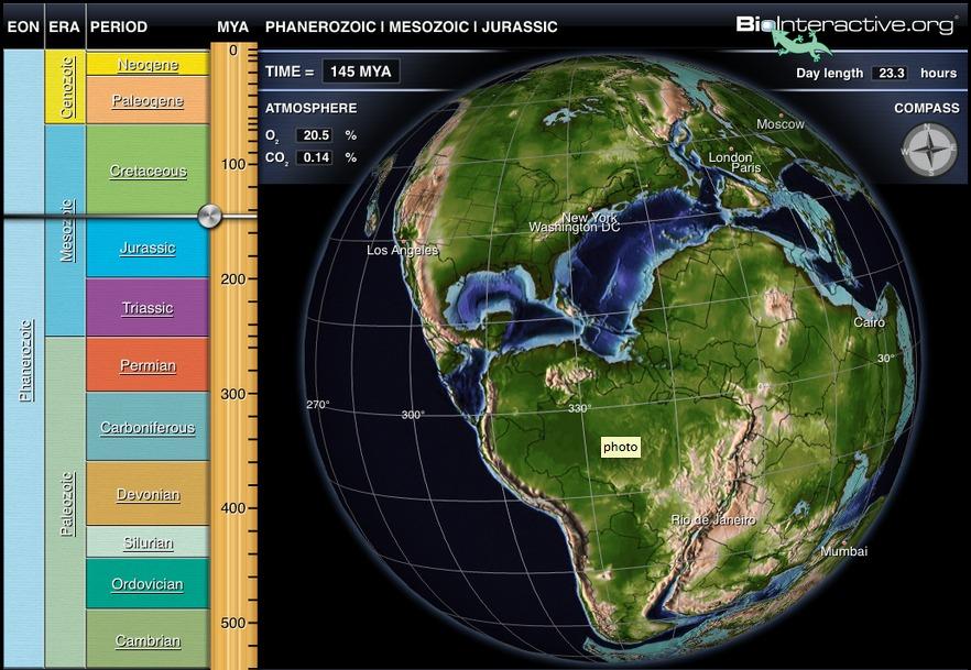 Aplicaţia Earth View