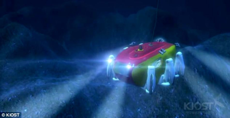 Crabster va putea fi utilizat atât în misiuni ştiinţifice, cât şi în scopuri practice.