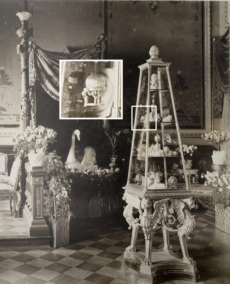 Oul imperial Fabergé între comorile Mariei Feodorovna, St. Petersburg, martie 1902