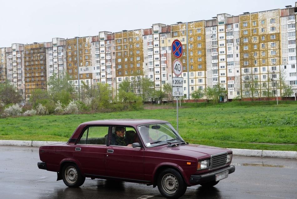 Maşinile Lada sunt încă populare în Tiraspol