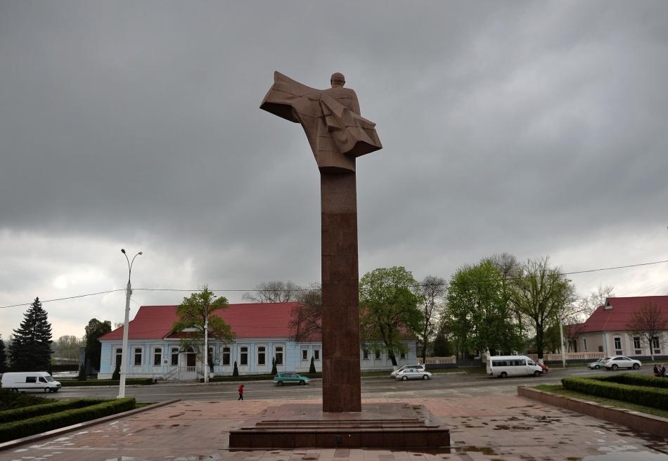 Statuia lui Vladimir Lenin din Tiraspol