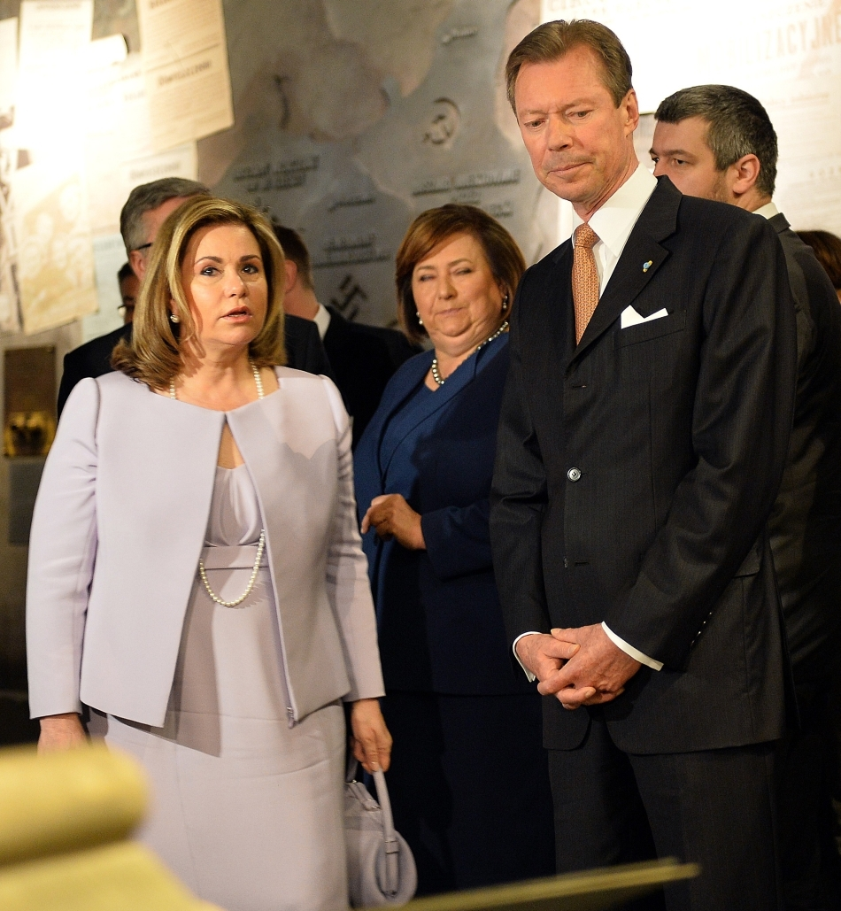 Marele Duce Henri şi Marea Ducesă Maria Teresa