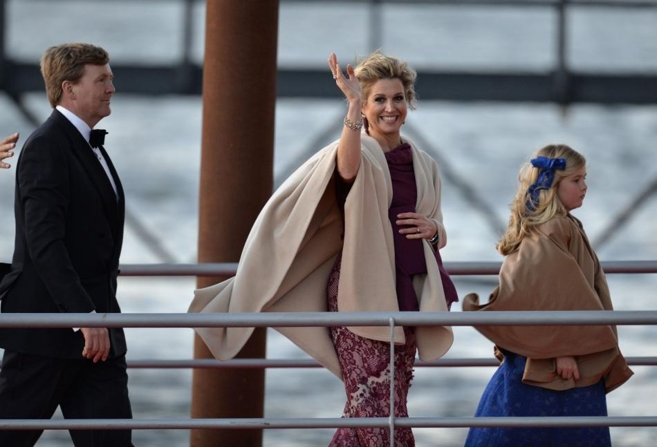 Regele Willem-Alexander, Regina Maxima şi prinţesa Catharina-Amalia