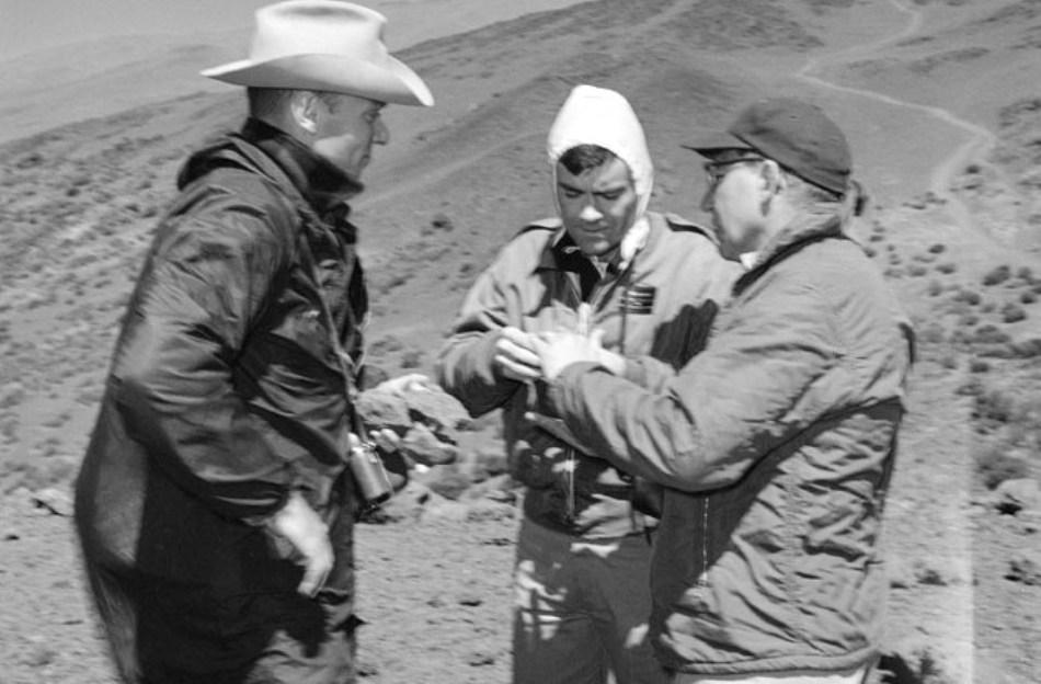 Februarie 1976: curs de pregătire în geologie.